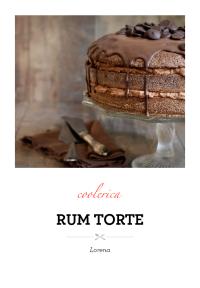 Rum torte