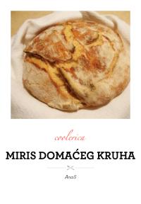 Miris domaćeg kruha