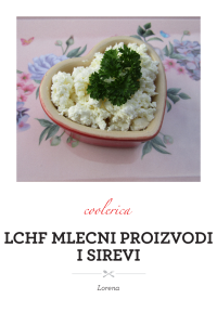LCHF mlecni proizvodi i sirevi