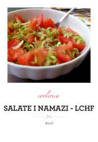 Salate i namazi - lchf