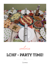 LCHF - Party time!