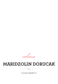 maridzolin dorucak