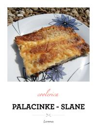 Palacinke - slane