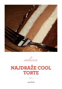 Najdraže cool torte