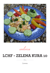 LCHF - Zelena Kura 10