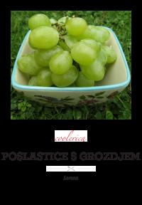 Poslastice s grozdjem
