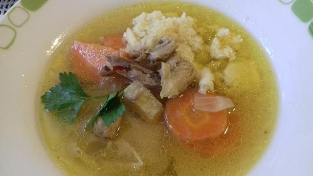 Pileća juha od pečenih kostiju - Branka51