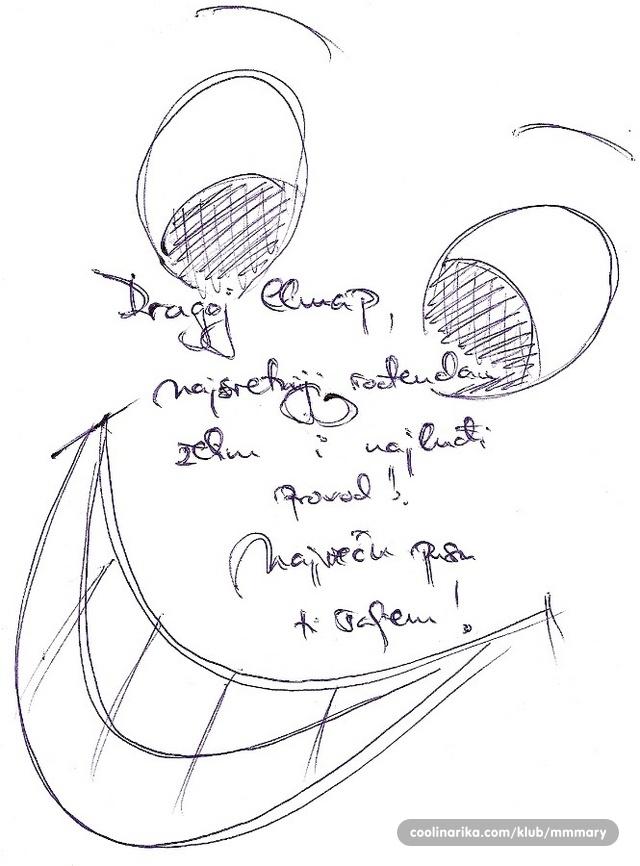 crtezi za rodjendan Elmap, ne piše da ti je rođendan, ali vidim čestitke pa da ne bih  crtezi za rodjendan