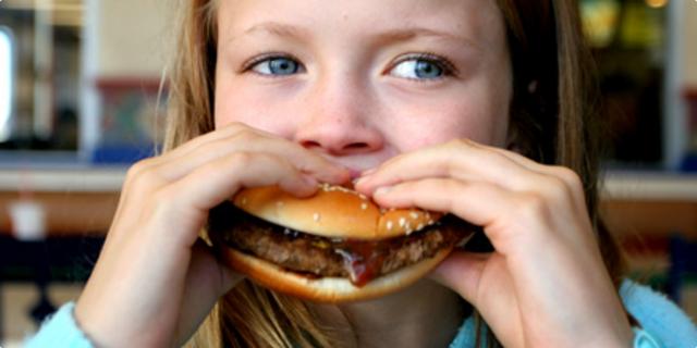 fast food i djeca
