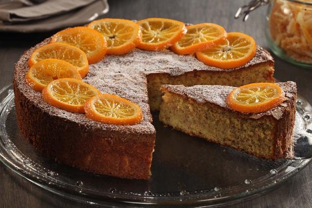 Sočna torta s klementinama