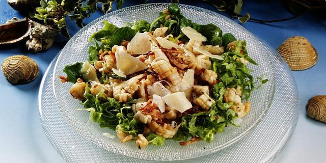 Toplo-hladna salata od liganja