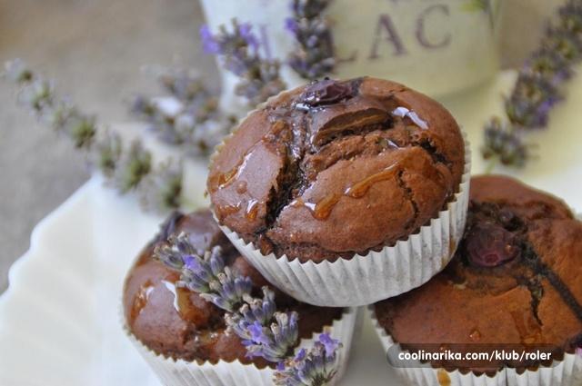 Lavandini ( muffini s lavandom)
