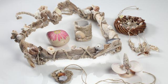 Ukrašavanje oblutaka i kreacije sa školjkama