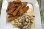 Piletina u sosu od gljiva i dimljenog sira