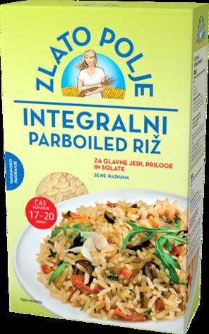 Riža smeđa parboiled vakum