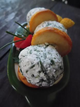 Kuglice od sira sa mirođijom