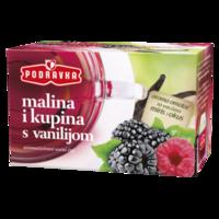 Čaj malina i kupina s vanilijom