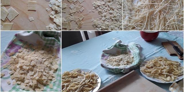 Kolaž od tjestenine