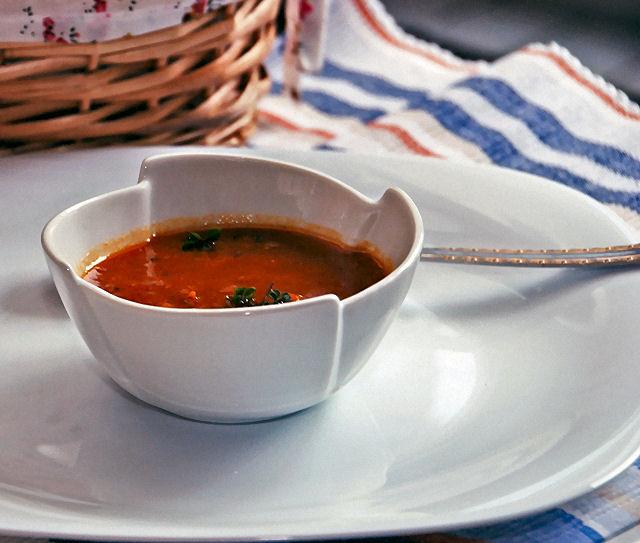 Pikantna juha od goveđeg repa - vaga