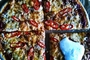 Slavonska pizza s raženim brašnom