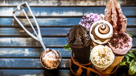 Sladoled - jer nam baš sad to treba