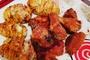 Pohovana pileca krilca u rerni i krompir lepeza :)