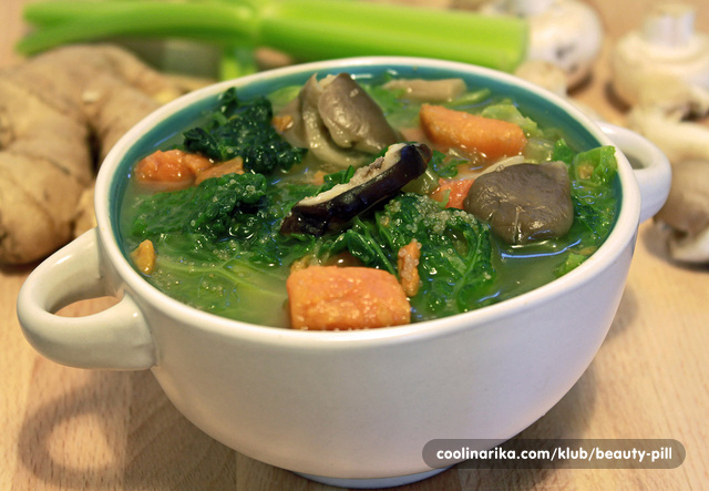 Varivo od amaranta i povrća