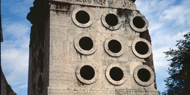 Marcus Vergilius Eurysaces, Rim, grobnica