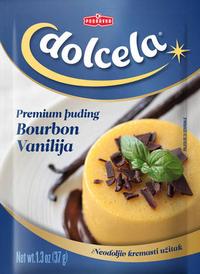 Puding bourbon vanilija premium