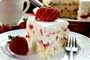 Strawberry layered pound cake...