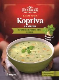 Krem juha kopriva sa sirom