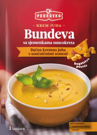 Krem juha od bundeve sa sjemenkama suncokreta