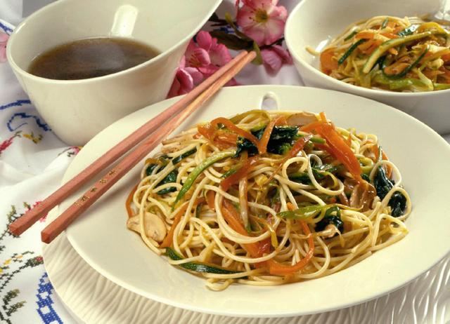 Špageti na kineski način
