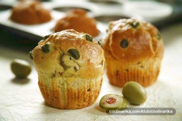 Muffini s okusom Mediterana