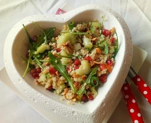 Bulgur,nar celerove stapke salata