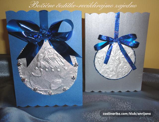 ideje za čestitke za božić Božićne čestitke   reciklirajmo zajedno — Coolinarika ideje za čestitke za božić