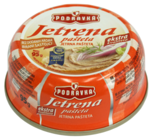 Podravka Jetrena pašteta