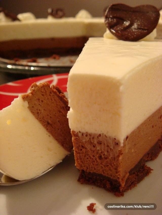 Triple chocolate cheesecake — Coolinarika