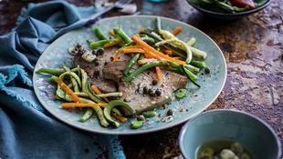 Tuniak so zeleninou