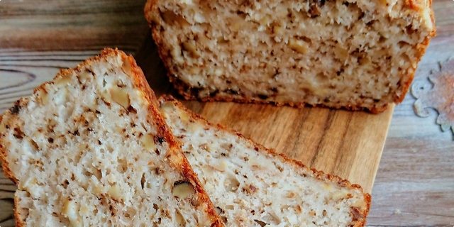cottage cheese and walnut loaf