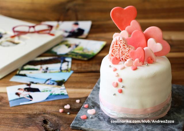 Čoko-lješnjak torta, Valentinovo