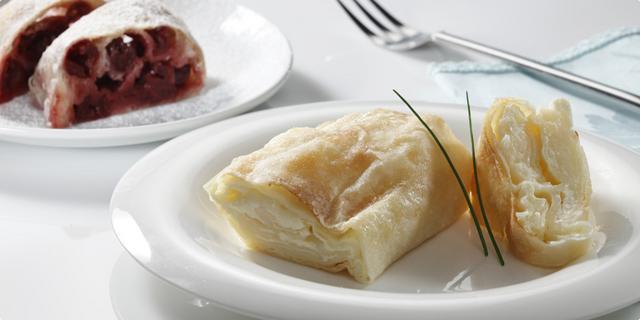 Savijača sa sirom ili višnjama