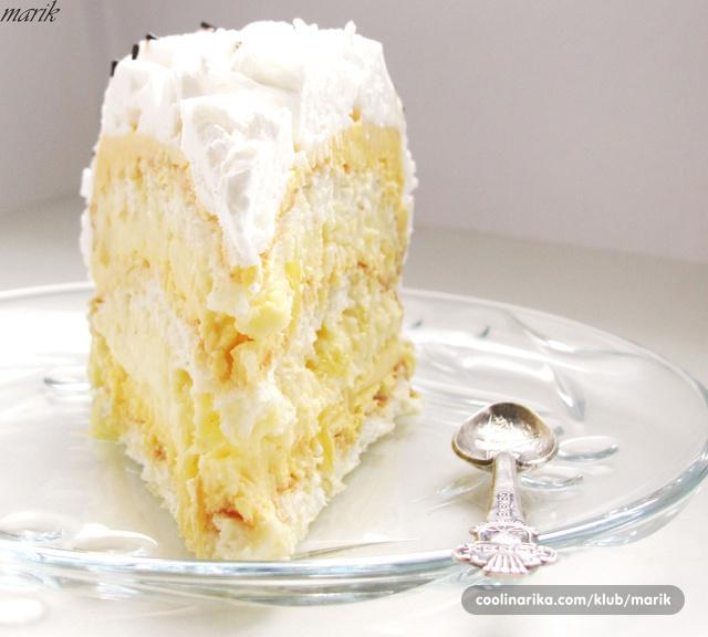 Torta ananas recept