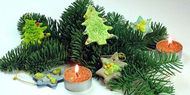 Izrada božićnih ukrasa od tijesta