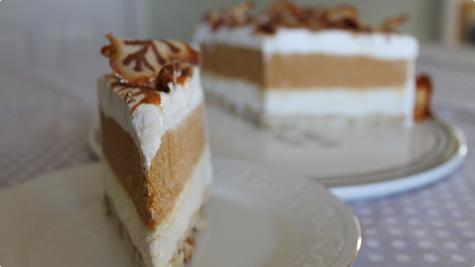 Jesenska torta sa pireom od buce i krusaka