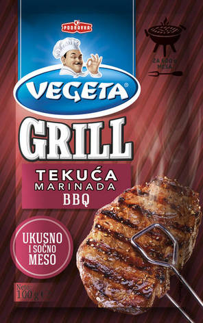 Vegeta Grill BBQ marinada