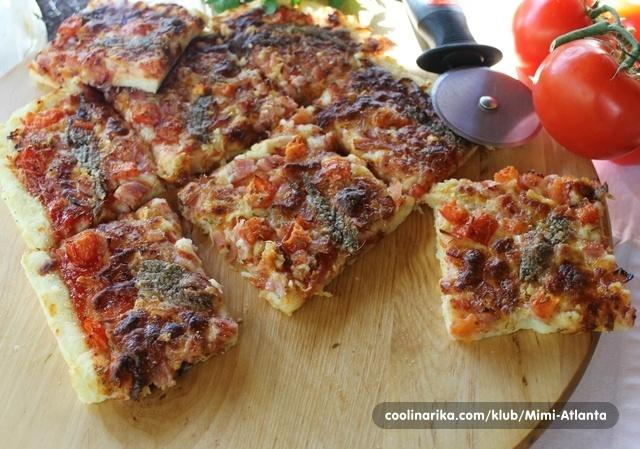 Potato pizza...