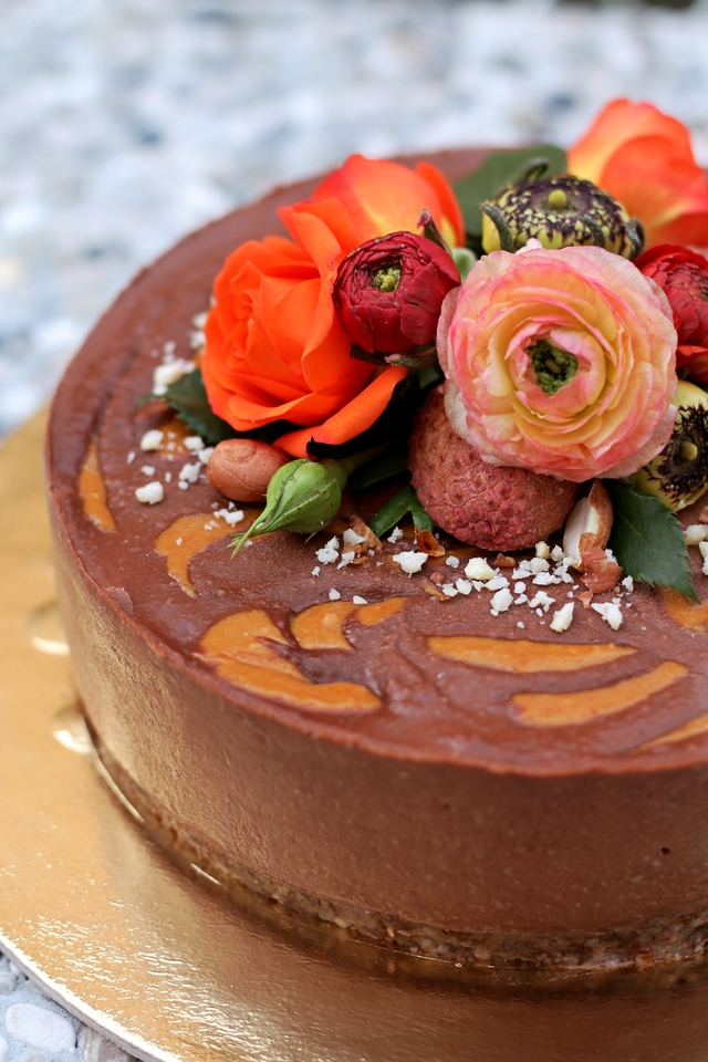 Sirova kakao torta s maslacem od kikirikija - KarlaSandra