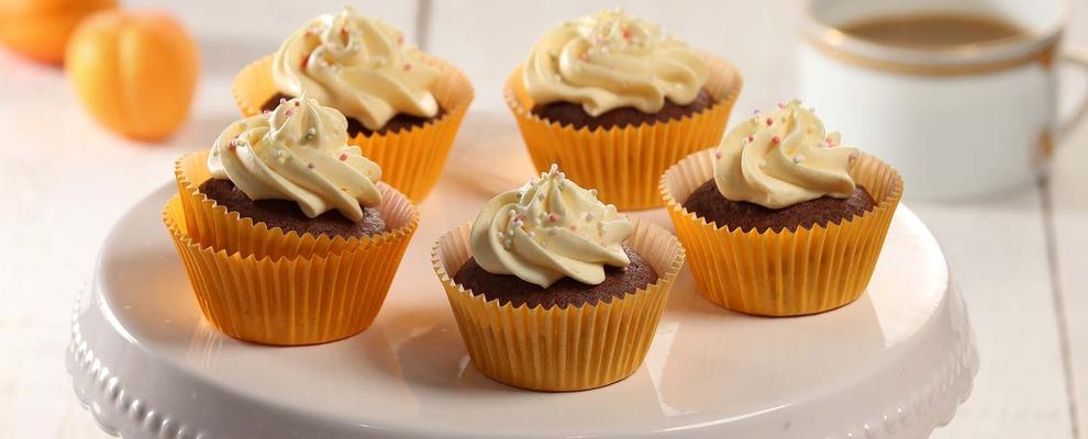 Cupcakes s kremom od marelica