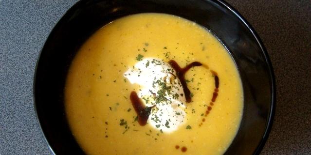 juha od muškatne tikve
